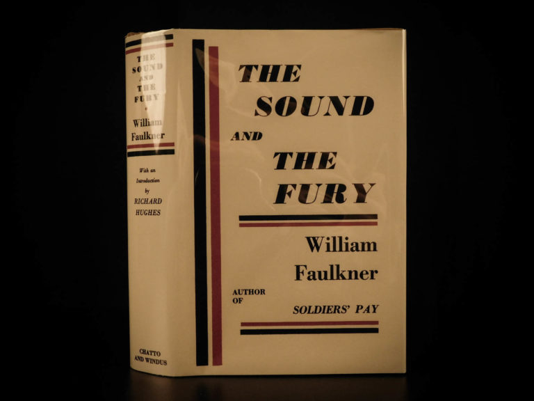 Image of 1931 1st ed The Sound and the Fury William Faulkner Stream of Consciousness