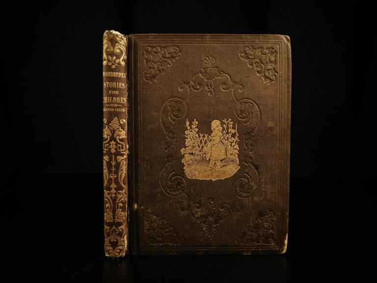 Image of 1847 1ed Hans Christian Andersen Fairy Tale Little MERMAID Disney Illustrated Danish