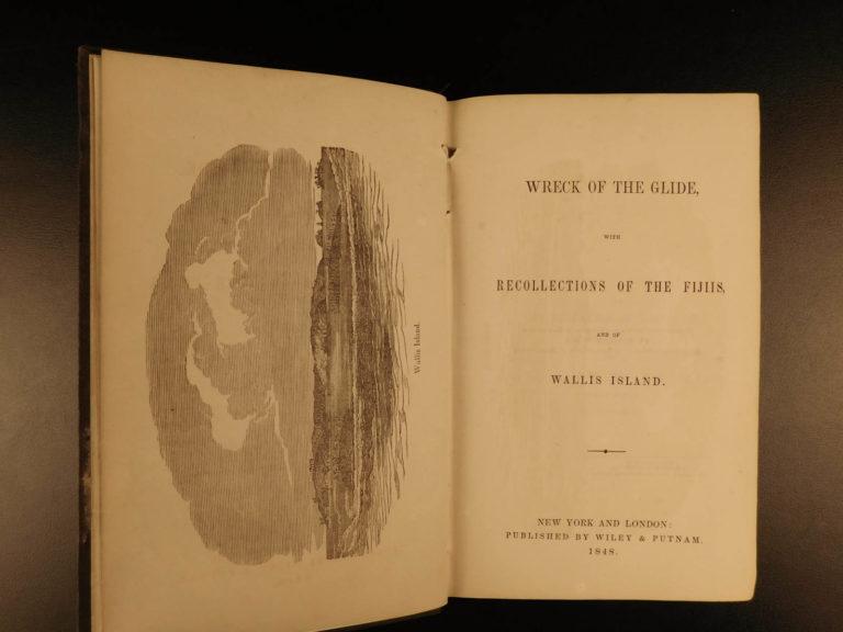 Image of 1848 1ed Wreck of the Glide Fiji & Wallis Islands Native Shipwrecks Dix Oliver