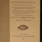 1800 Guyot Occult Physics Illustrated Magic Tricks Illusions MAGIC Lantern 3v