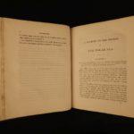 1823 1ed John Franklin Arctic Exploration Illustrated Native Indians Alaska