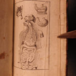 1741 FAMOUS Johann Kulmus Anatomy Surgery Medicine Illustrated JAPAN China