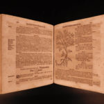 1673 German HERBAL Medicine Astrology Zodiac Moon OCCULT Carrichter Kreutterbuch