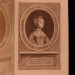 1689 English Reformation Burnet Henry VIII Elizabeth I Portraits RARE Latin ed
