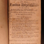 1683 London Pharmacopeia Culpeper HERBAL Alchemy Poor Medicine Pharmacy Unicorns