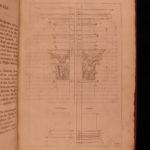 1680 Architecture ART Eveyln English RARE FOLIO Freart Palladio Serlio Vignola