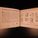 1686 Art of Portraiture Jean Cousin Sculpting Artistic Anatomy Drawing JOLLAIN