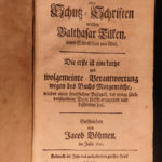 1730 Jakob Böhme Lutheran Occult Mysticism Behmen Signs Signatures German 7in1
