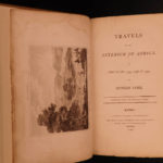 1799 Mungo Park Travels in AFRICA Mandingo Slaves Cannibalism Voyages Hunts