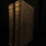 1852 Benjamin Franklin Autobiography Memoirs Americana Inventions Electricity 2v