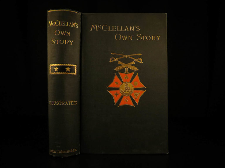 Image of 1887 1ed Civil War George McClellan Own Story Union General Slavery Lincoln