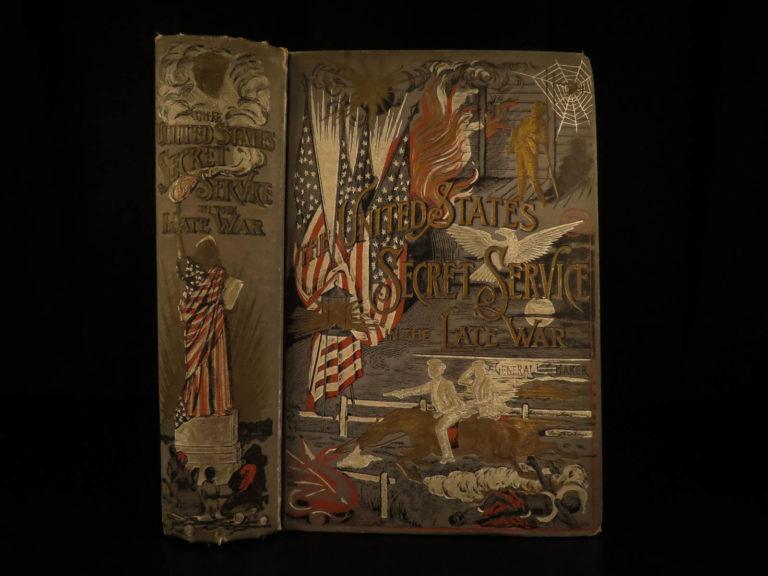 Image of 1889 Civil War Secret Service Wilkes Booth Lincoln Assassination Baker