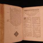 1594 Lucius Florus History of Rome LIVY Stadius Commentary Latin Ab Urbe Condita