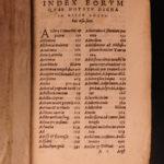 1565 Aulus Gellius Attic Nights Noctes Atticae ROME Greece Greek Philosophy