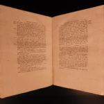1800 TRUE 1st ed Pigafetta on MAGELLAN Italian Voyages Exploration Amoretti Map