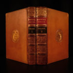1826 Works of Pompeius Festus Ancient Rome Latin Grammar Flaccus Delphini