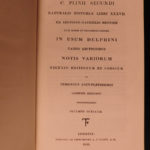 1826 Pliny the Elder Natural History Astronomy Magic Miracles Gemology Delphini