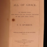 1886 Charles Spurgeon All of Grace Puritan Devotional Baptist Faith v Sin
