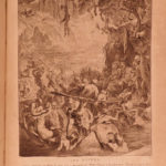 1795 Temple of Muses FAMOUS Mythology Engravings of Abraham Diepenbeck Dutch ART
