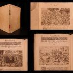 1591 Funeral Rites Torture Human Sacrifice Illustrated Funerali Antichi Porcacchi