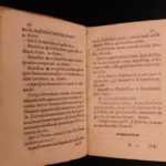 1640 1ed Catholic Orders Rituals of Most Holy Annunciation NUNS Prayer Monastics