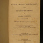 1848 1st ed Emory Military Col. Abert PROVENANCE! California MAP Indians Texas