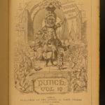 1850-1882 Punch Magazine Illustrated Cartoon Political Satire War Humor 18v