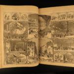 1864 Harper's Weekly CIVIL WAR Slaves Gettysburg Abe Lincoln Illustrated HUGE