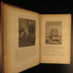 1877 Jules VERNE 20,000 Leagues Under the Sea French Illustrated Sci-Fi CLASSIC