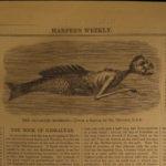 1860 Harper's Weekly Florence Nightingale Nursing Meteors Japan Illustrated HUGE