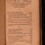 1559 Carrichter Caepolla German LAW Folio Pegius 5in1 Astrology & Paracelsus