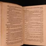 1573 Ragione d'Alcune Cose Castelvetro on Annibal Caro Poetry Italian Language