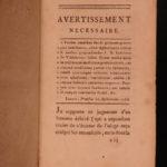 1786 1ed Hippocrates Medicine & Surgery SECRETS Aphorisms Epidemics Prognostics
