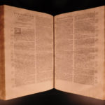 1588 FOLIO Homilies of Saint Chrysostom Superstition Flavian & Theodosius ROME