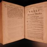 1672 Edward Burrough QUAKER Sermons anti Puritan Charles II England Bunyan FOLIO