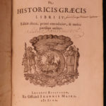 1601 Vossius Greek History Philosophy ROME Aristotle Socrates Greece Mythology
