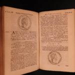 1696 Aurelius Victor Roman History Mythology Julius Augustus Caesar COINS ROME