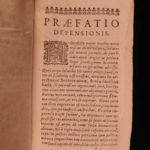 1650 1ed Execution Charles I Defensio Regia Saumaise French Royalist Civil War