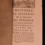1772 1ed House of Bourbon in SPAIN Habsburgs Louis XIV Ferdinand VI Charles II