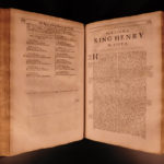 1679 Richard Baker Chronicle of Kings of England BIZARRE Dragons Monsters Wars