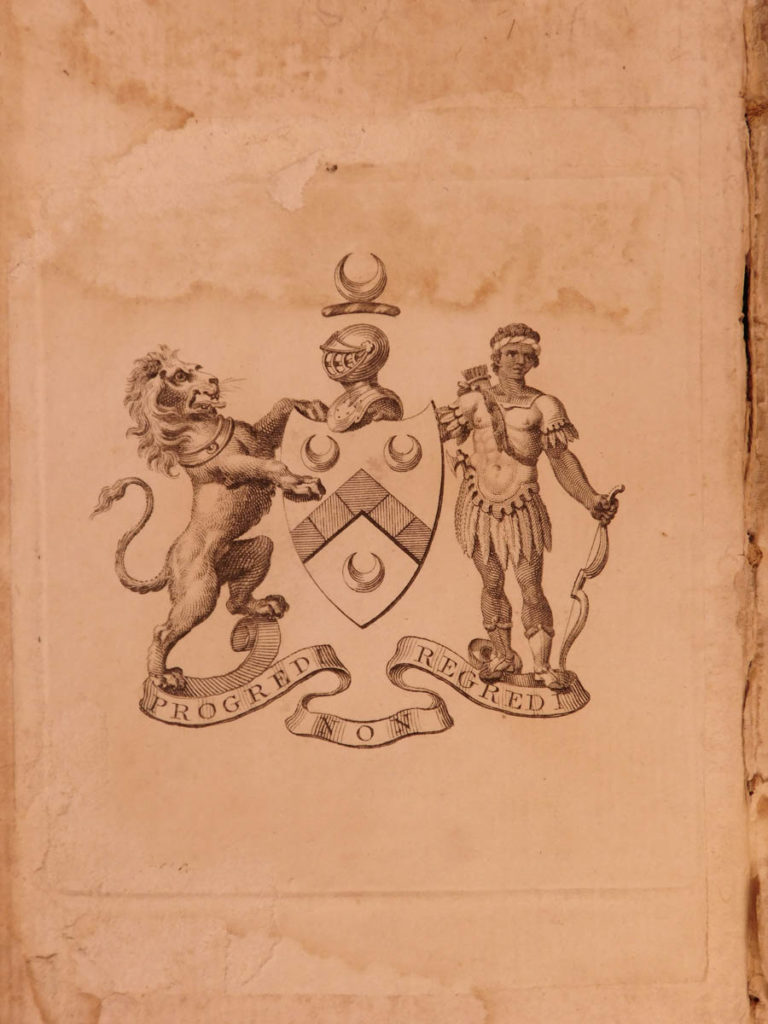 Image of 1790 RARE PROVENANCE Rutledge Founding Father 1st ed Bruce Voyages AFRICA