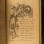 1869 1ed Alice in Wonderland Lewis Carroll Tenniel Illustrated American 1st ed