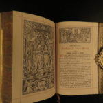 1885 EXQUISITE Imitation of Mary by Rouville Catholic Mariology Holy Virgin