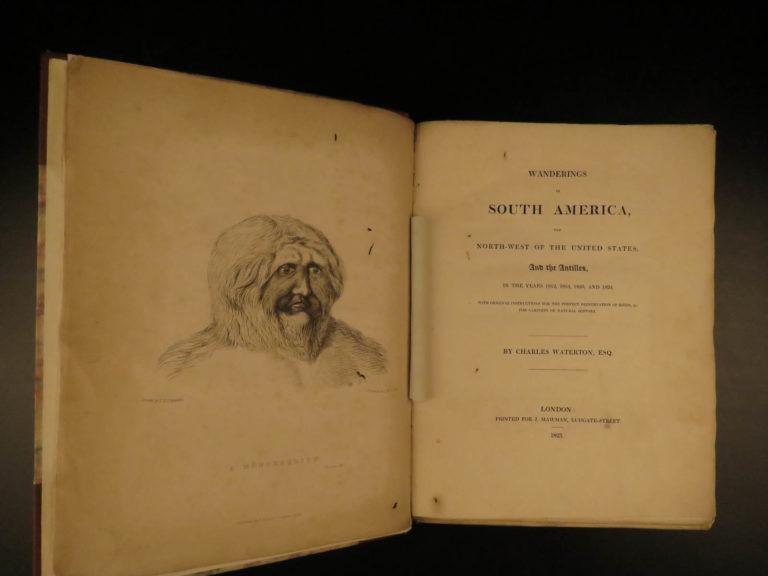 Image of 1825 1ed Wanderings South America Natural History Darwin & Wallace Inspiration