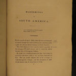 1825 1ed Wanderings South America Natural History Darwin & Wallace Inspiration