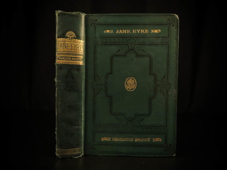 Image of 1891 Jane Eyre Charlotte Bronte Gothic Feminism Currer Bell CLASSIC Novel