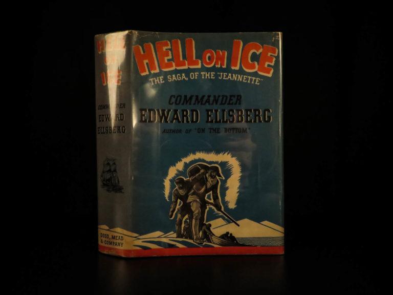 Image of 1938 1ed SIGNED Hell on Ice Ellsberg Arctic British North Pole Expeditions