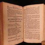 1708 Buxtorf HEBREW & Latin Jewish Bible Lexicon Dictionary Judaica Rabbinica
