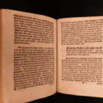 1539 1st ed Martin Luther BIBLE Commentary Gospel John Reformation German RARE