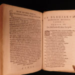 1613 Works of Hesiod Greek Philosophy Theogony Mythology Dutch Heinsius Latin
